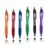 Chrome Trim Retractable Ballpoint Pen Image 2