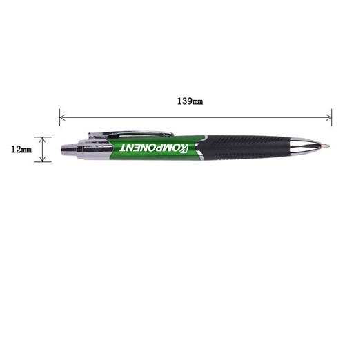 Wave Grip Ballpoint Pen Image 1