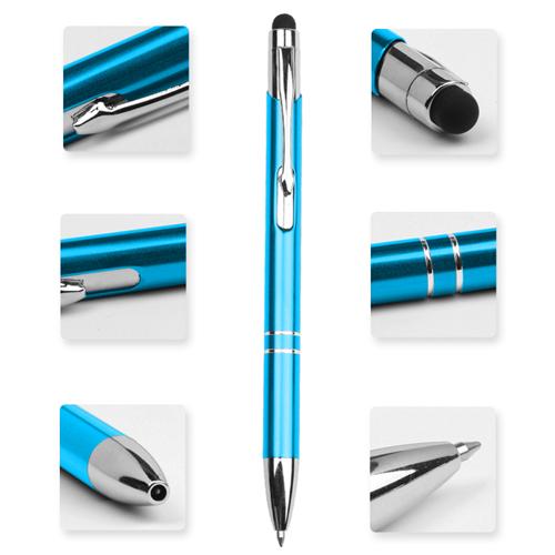 Shining Metal Aluminium Stylus Pen
