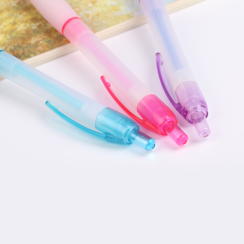 Ice Translucent Retractable Ballpoint Pen Image 4