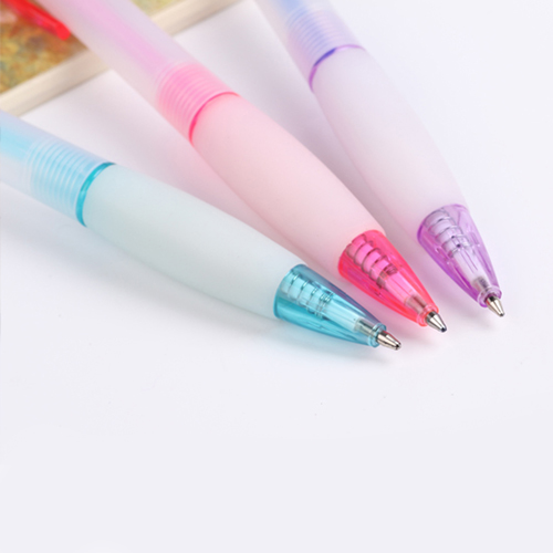 Ice Translucent Retractable Ballpoint Pen Image 5