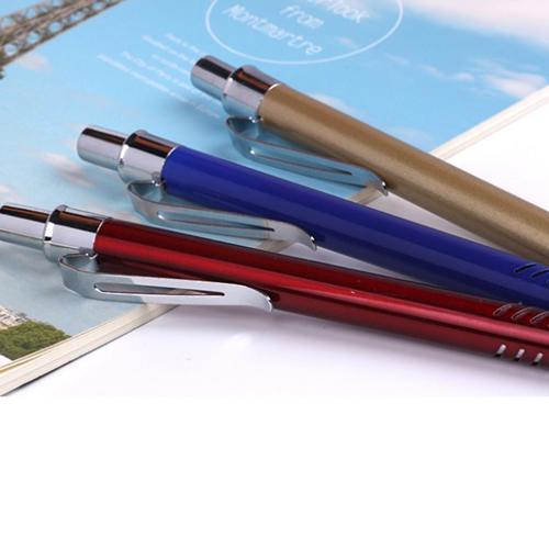 Metal Gills Grip Ballpoint Pen Image 5