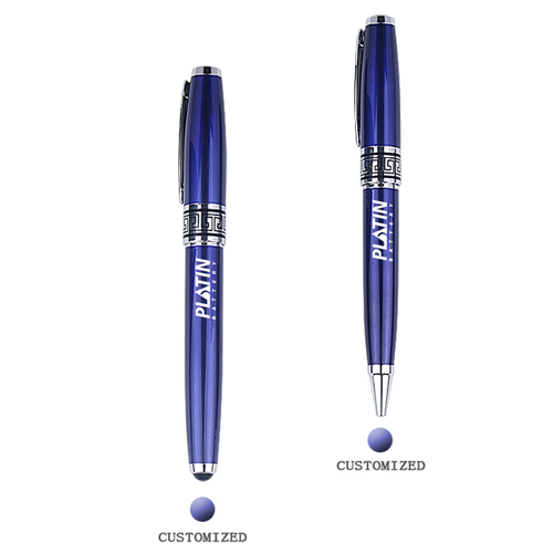 Chrome Executive Roller Ball Pen Image 1