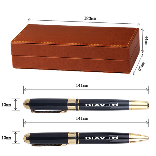 Executive Metal Roller Ball Pen Image 1