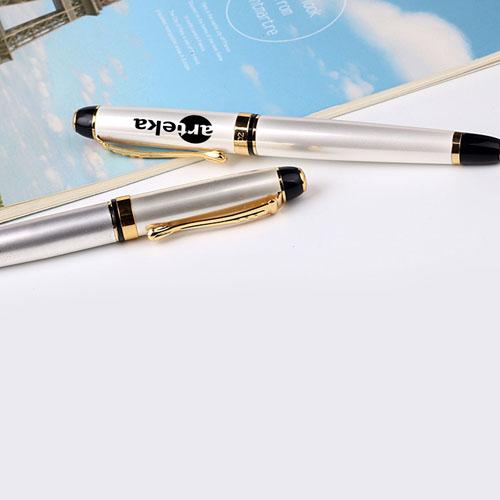 Chrome Metal Executive Pen Image 5