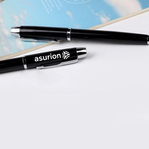 Gloss Metal Ballpoint Pen Image 5