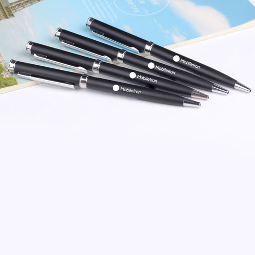 Slim Twist Metal Ball Pen Image 3