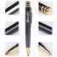 Elegant Ring Design Metal Ballpoint Pen