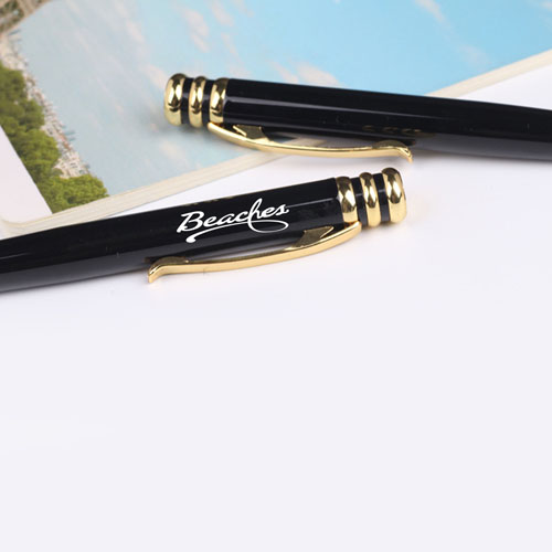 Elegant Ring Design Metal Ballpoint Pen Image 7