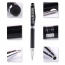 2 in 1Touch Screen Stylus Metallic Ball Point Pen