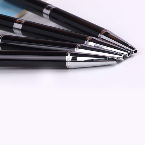 2 in 1Touch Screen Stylus Metallic Ball Point Pen Image 2