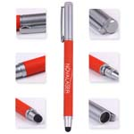 Promotional  metallic touch top pointed ball pen