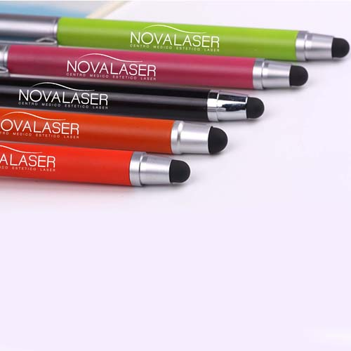 Promotional  metallic touch top pointed ball pen Image 2