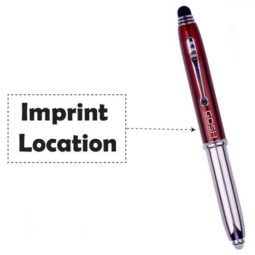 Hot selling lightpen with metall refill Imprint Image