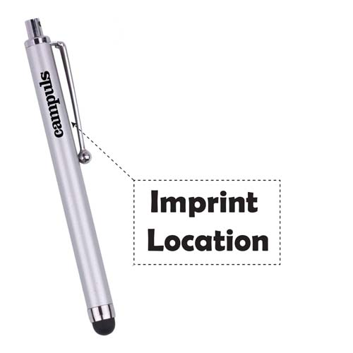 promotional stylus pen with customized logo Imprint Image