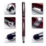 Eco-Friendly 4 in 1 Laser-stylus led light pen