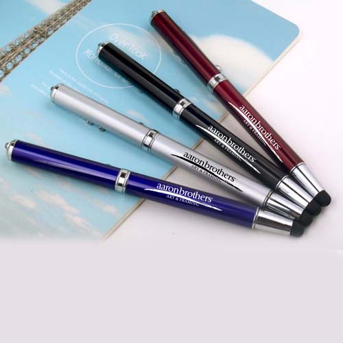 Eco-Friendly 4 in 1 Laser-stylus led light pen Image 3