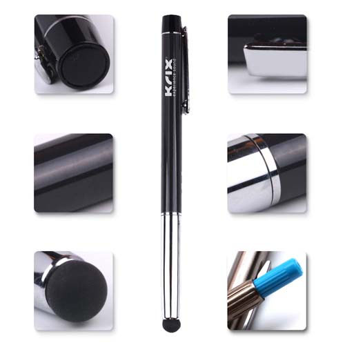Classic metal stylus pen with dustplug