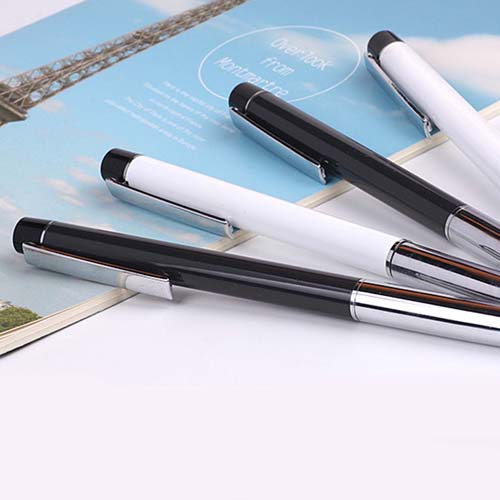 Classic metal stylus pen with dustplug  Image 3