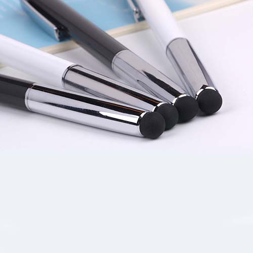 Classic metal stylus pen with dustplug  Image 4