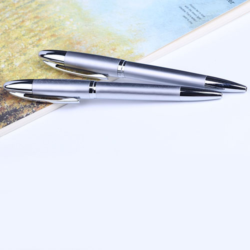 Eco-friendly roller ballpoint pen with logo
