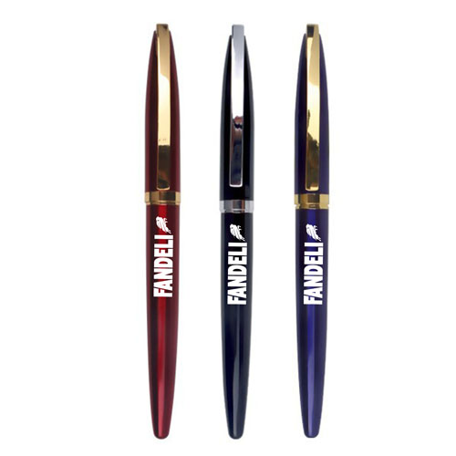 Promotional eco-friendly luxurious roller ballpoint pen Image 2