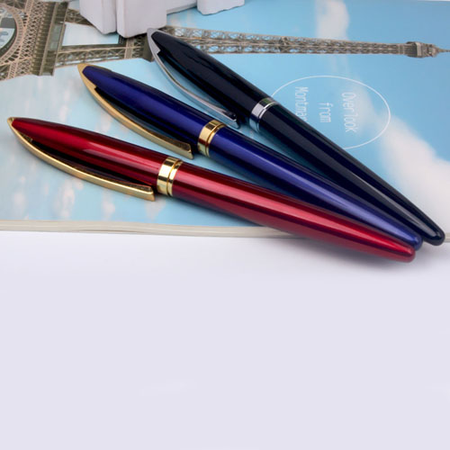 Promotional eco-friendly luxurious roller ballpoint pen Image 4