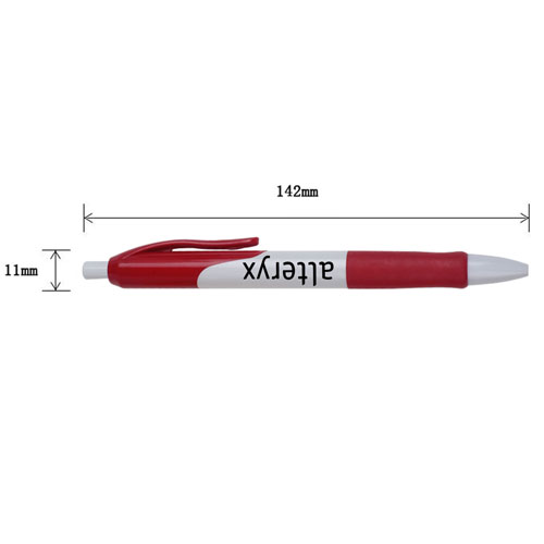 Retractable Ballpoint Pen With Comfortable Grip Image 1