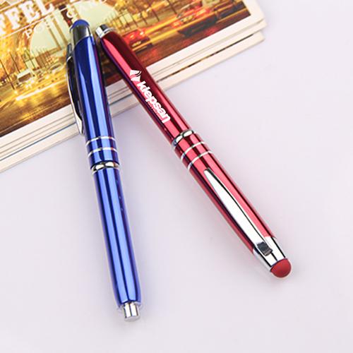 Metal Stylus and Ballpoint Pen