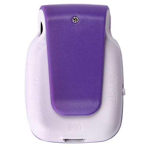 Mini Portable Clip Metal USB Mp3 Player