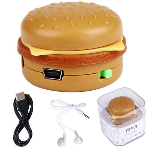 Portable Hamburger Style Mp3 Player