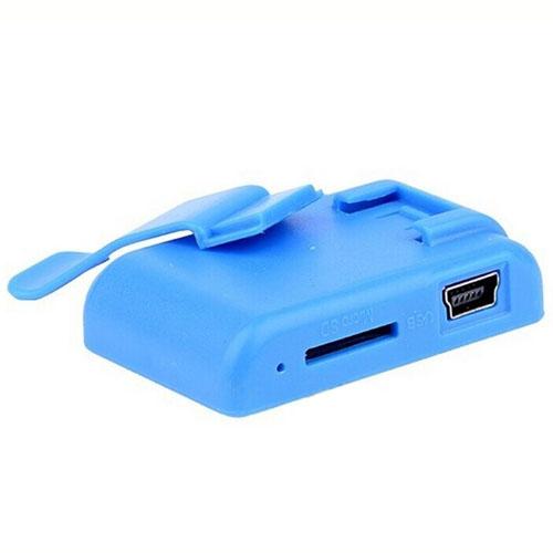 Mini Mirror Clip USB Mp3 Player