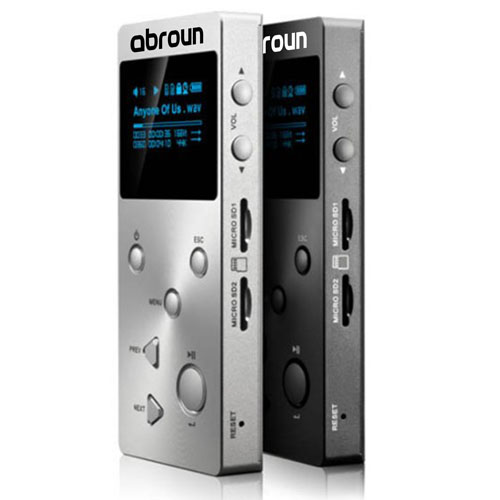 Portable HiFi Music Player With OLED Screen