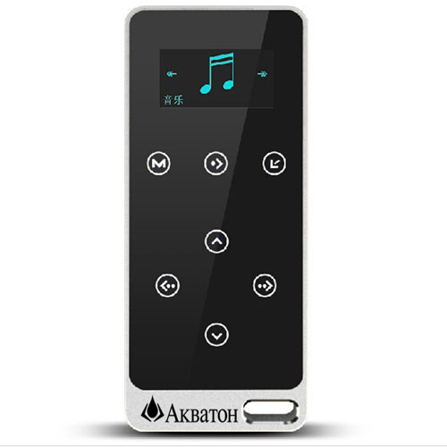 8GB Touch Screen Mp3 Player With FM Radio