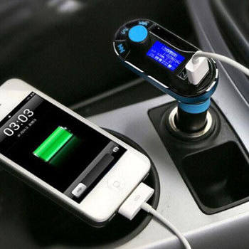 Dual USB Wireless Bluetooth Car FM MP3 Player
