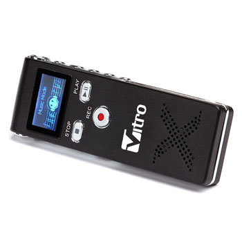 Multifunctional 8GB Digital Mini Dictaphone
