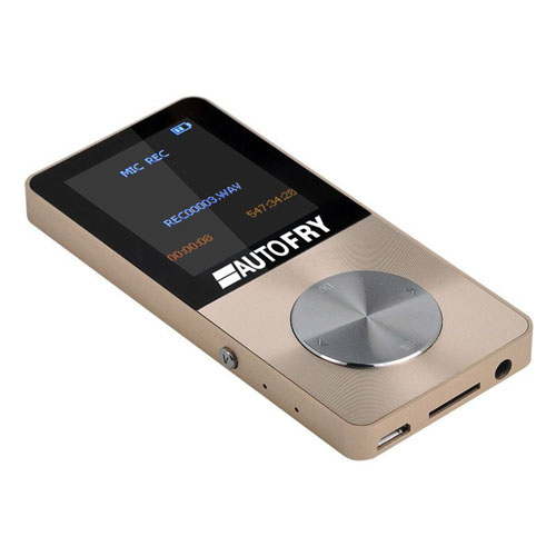 Metal Mp4 Player With 1.8 Inch Screen