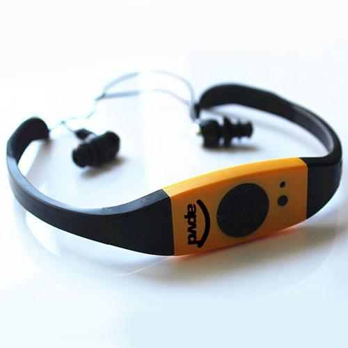 Waterproof Mp3 Headset Music Player