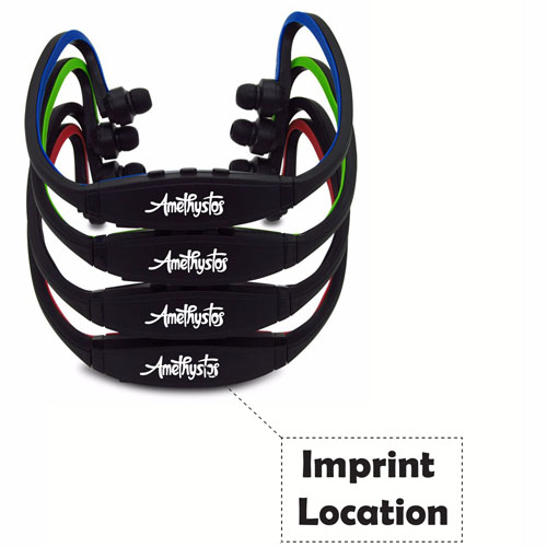 Sport Portable Wireless Headphone Imprint Image