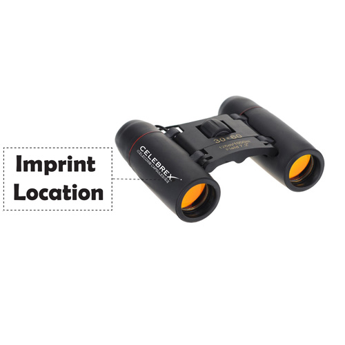 Foldable 30 x 60 Optical Zoom Binocular Imprint Image
