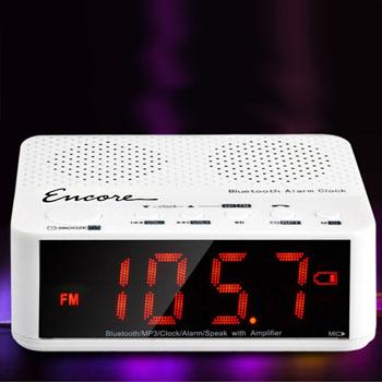 Bluetooth Wireless Speaker Radio With Alarm Clock