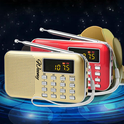 Mini Portable USB FM Radio Speaker