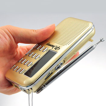 Mini Portable USB FM Radio Speaker