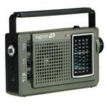 Vintage Hand Crank Dynamo Multiband Radio