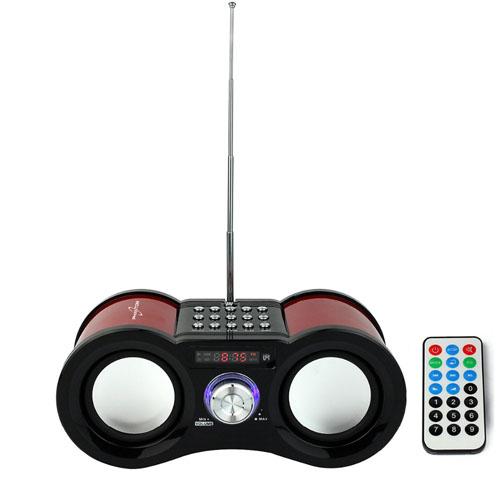 Multimedia Bass Stereo FM Radio Music Player Image 3