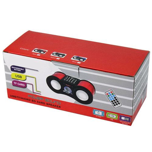 Multimedia Bass Stereo FM Radio Music Player Image 4