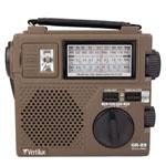 Vintage Hand Crank Emergency Radio