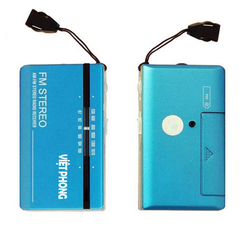 Pocket Radio R-102 With Earphone