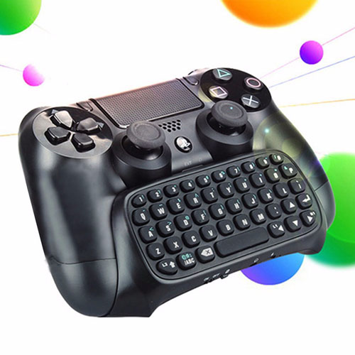 Bluetooth Mini Wireless Chatpad Keyboard PS4 Controller