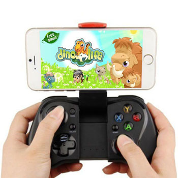Bluetooth Game Controller Joystick With Telescopic Stand